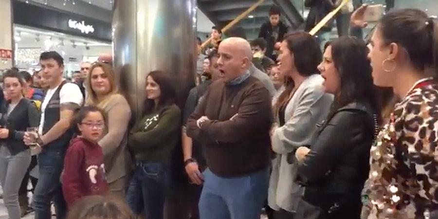 Flashmob en CC Berceo de Logroño