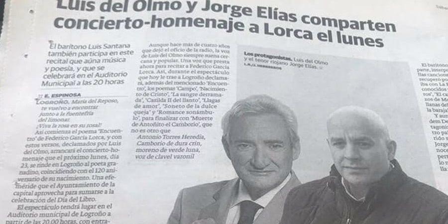 Luis del Olmo y Jorge Elías